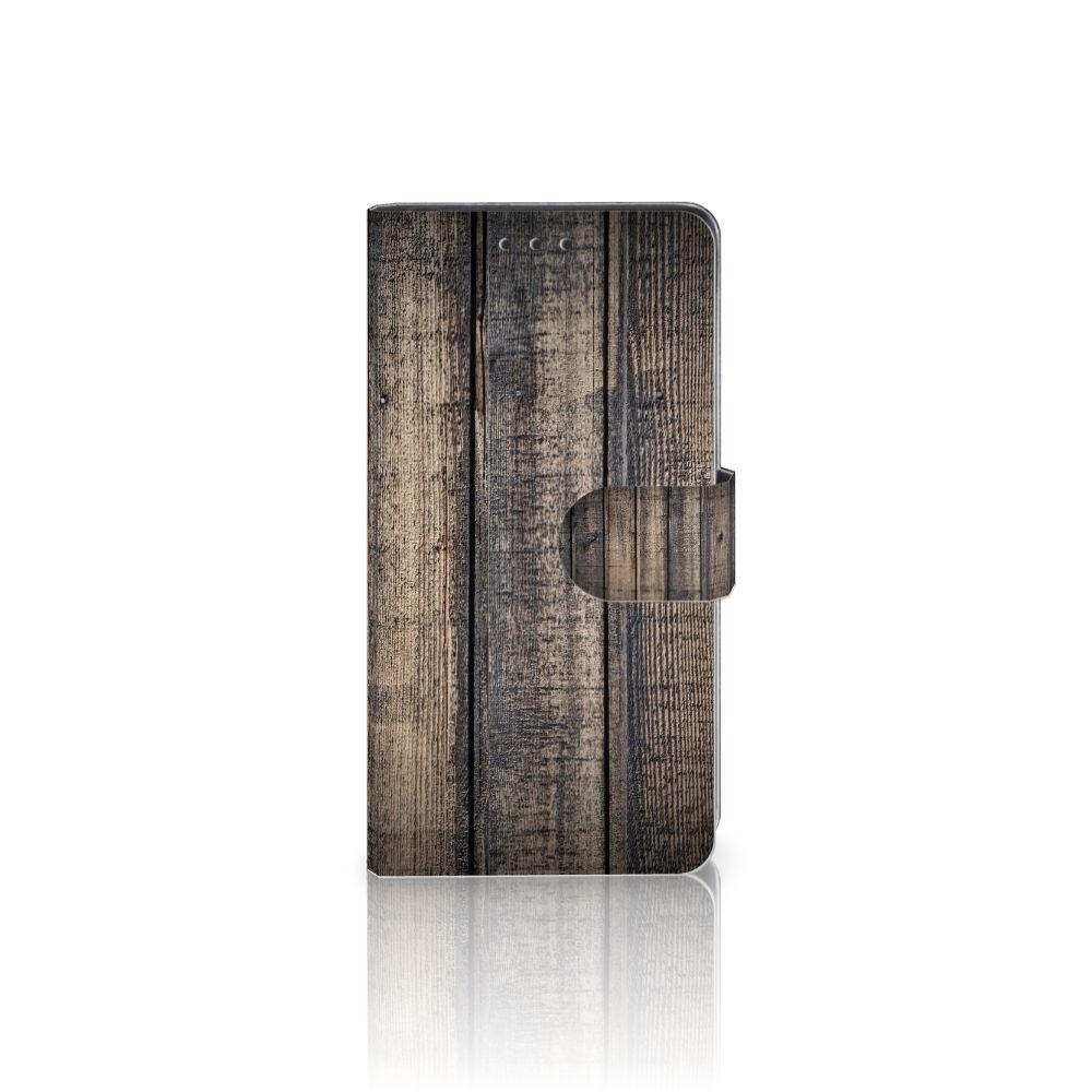 Sony Xperia Z3 Boekhoesje Design Steigerhout