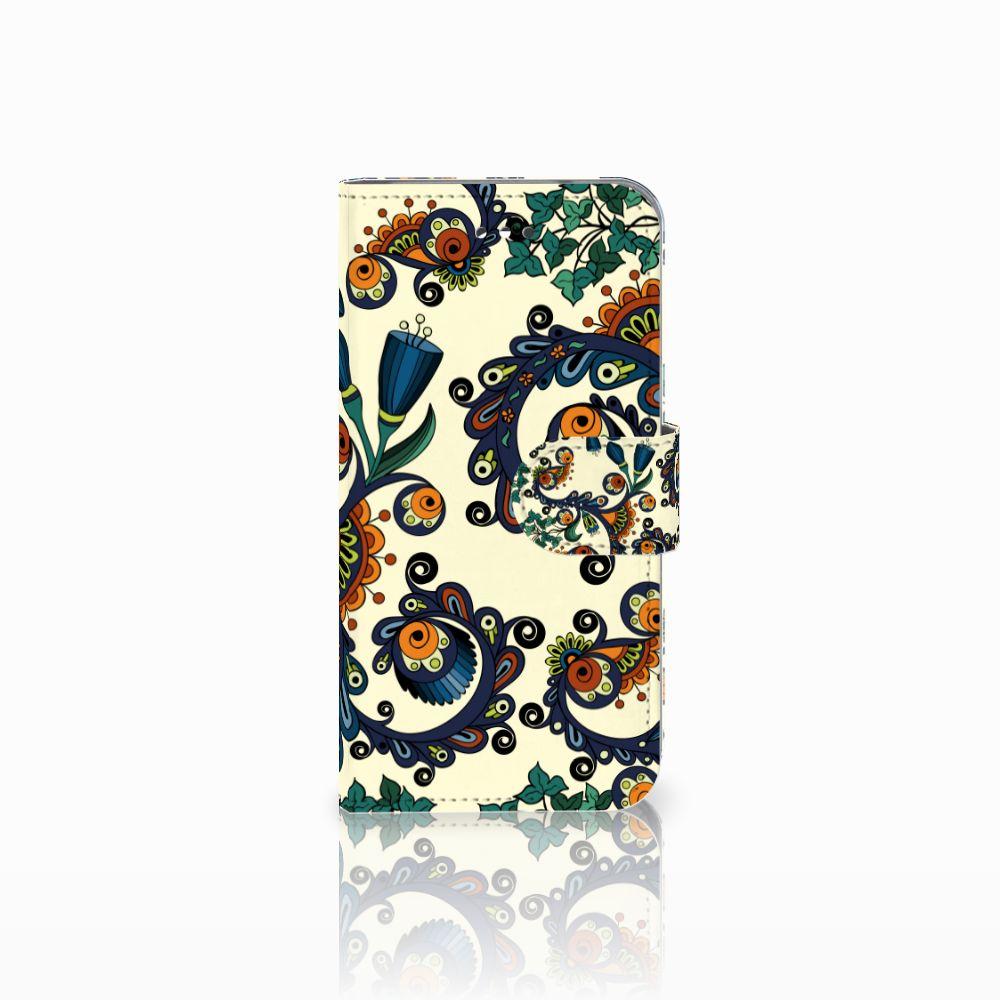 Wallet Case LG X Screen Barok Flower