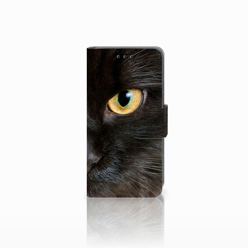 Nokia Lumia 630 Uniek Boekhoesje Zwarte Kat