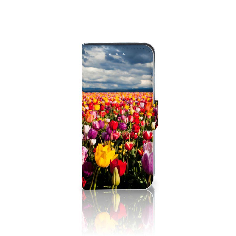 Samsung Galaxy S6 Edge Uniek Boekhoesje Tulpen