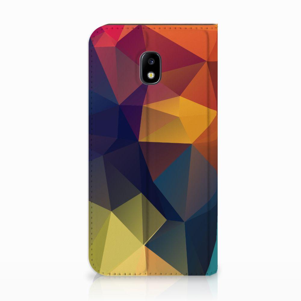Samsung Galaxy J3 2017 Stand Case Polygon Color