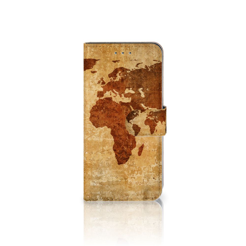 Samsung Galaxy S7 Edge Boekhoesje Design Wereldkaart
