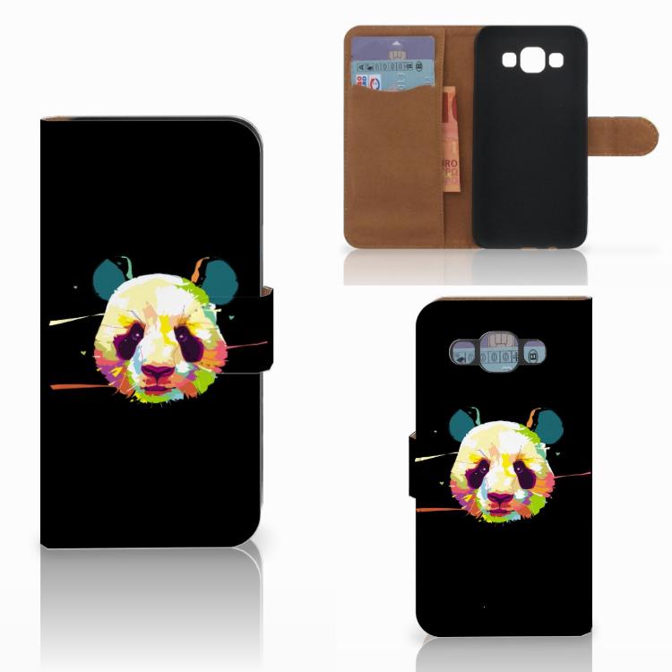 Samsung Galaxy E5 Leuke Hoesje Panda Color