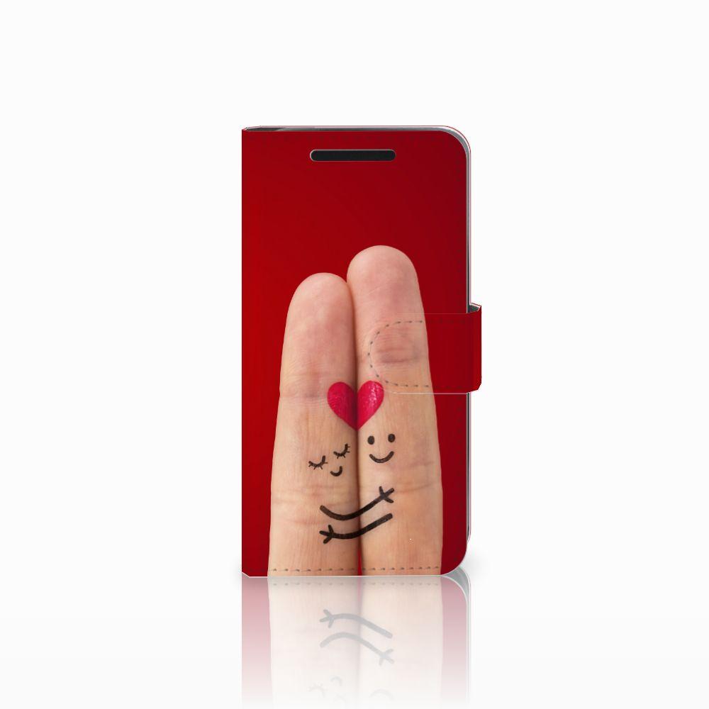HTC One M9 Wallet Case met Pasjes Liefde