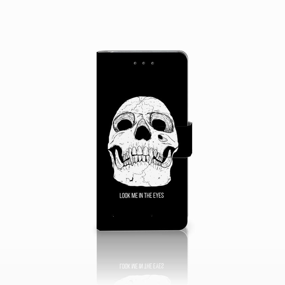 Samsung Galaxy Grand Prime | Grand Prime VE G531F Uniek Boekhoesje Skull Eyes