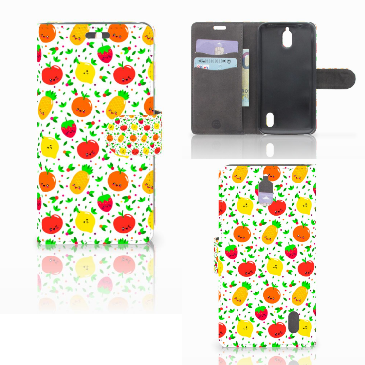 Huawei Y625 Book Cover Fruits