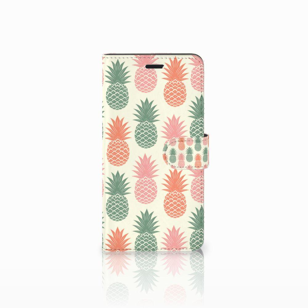 Wiko Pulp Fab 4G Boekhoesje Design Ananas