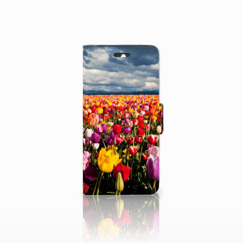 Huawei Ascend Y550 Uniek Boekhoesje Tulpen