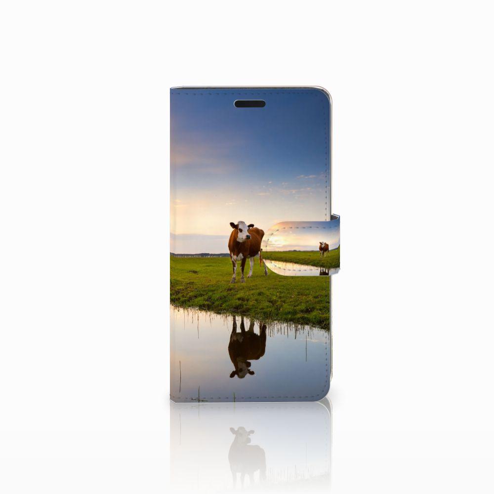 HTC Desire 530 Boekhoesje Design Koe