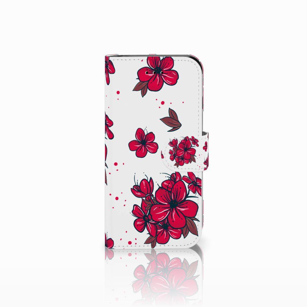 Apple iPhone 6 | 6s Boekhoesje Design Blossom Red
