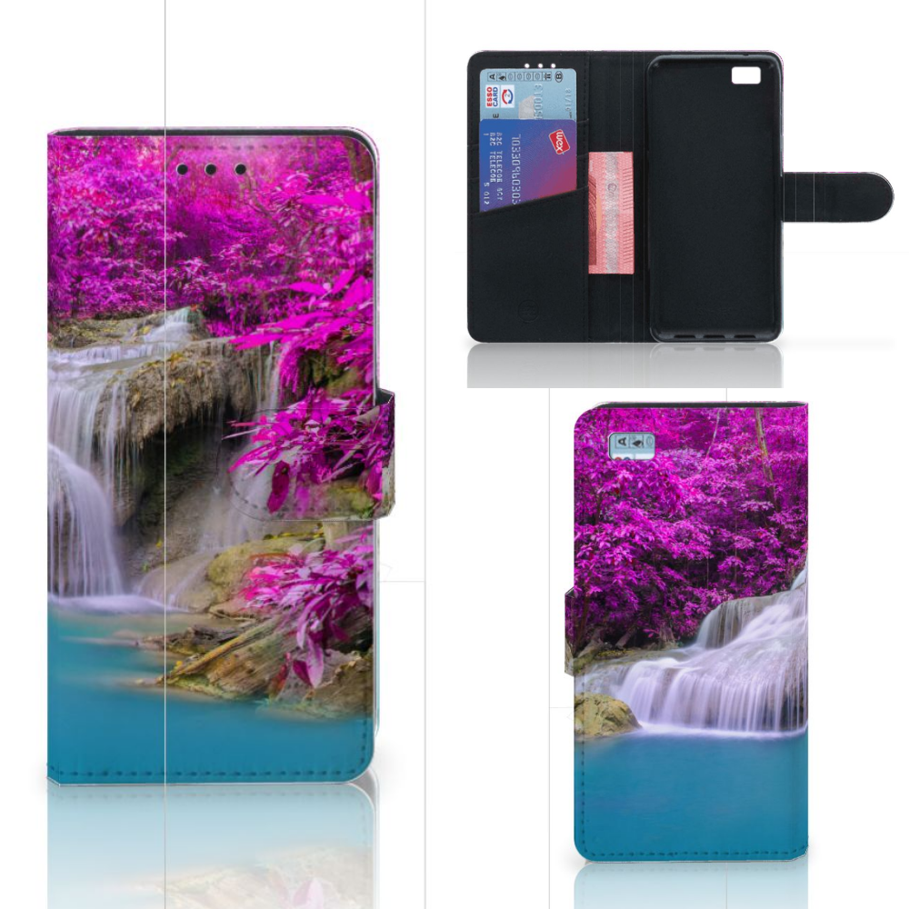 Huawei Ascend P8 Lite Flip Cover Waterval