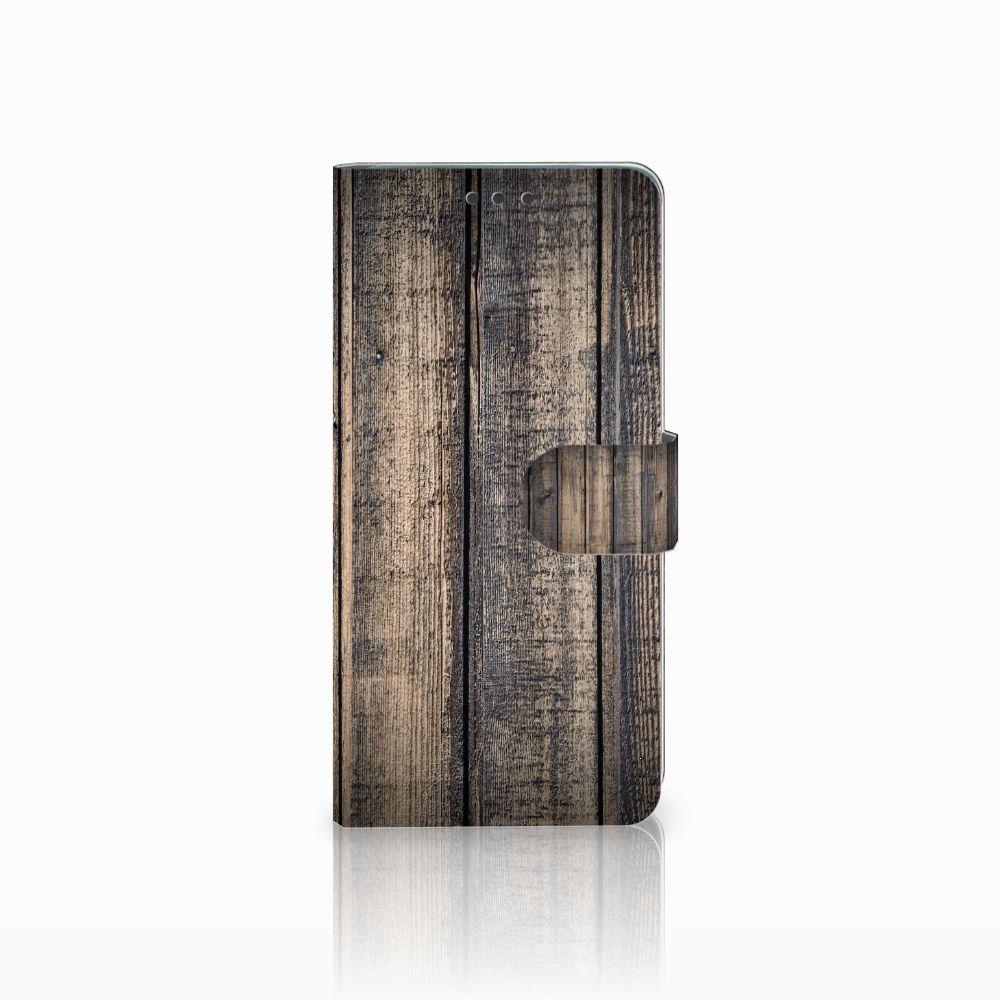 Huawei Mate 20 Boekhoesje Design Steigerhout