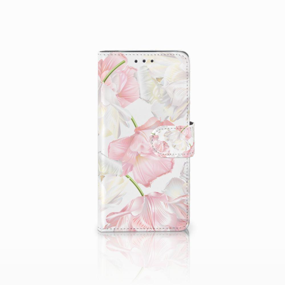 Motorola Moto X4 Boekhoesje Design Lovely Flowers