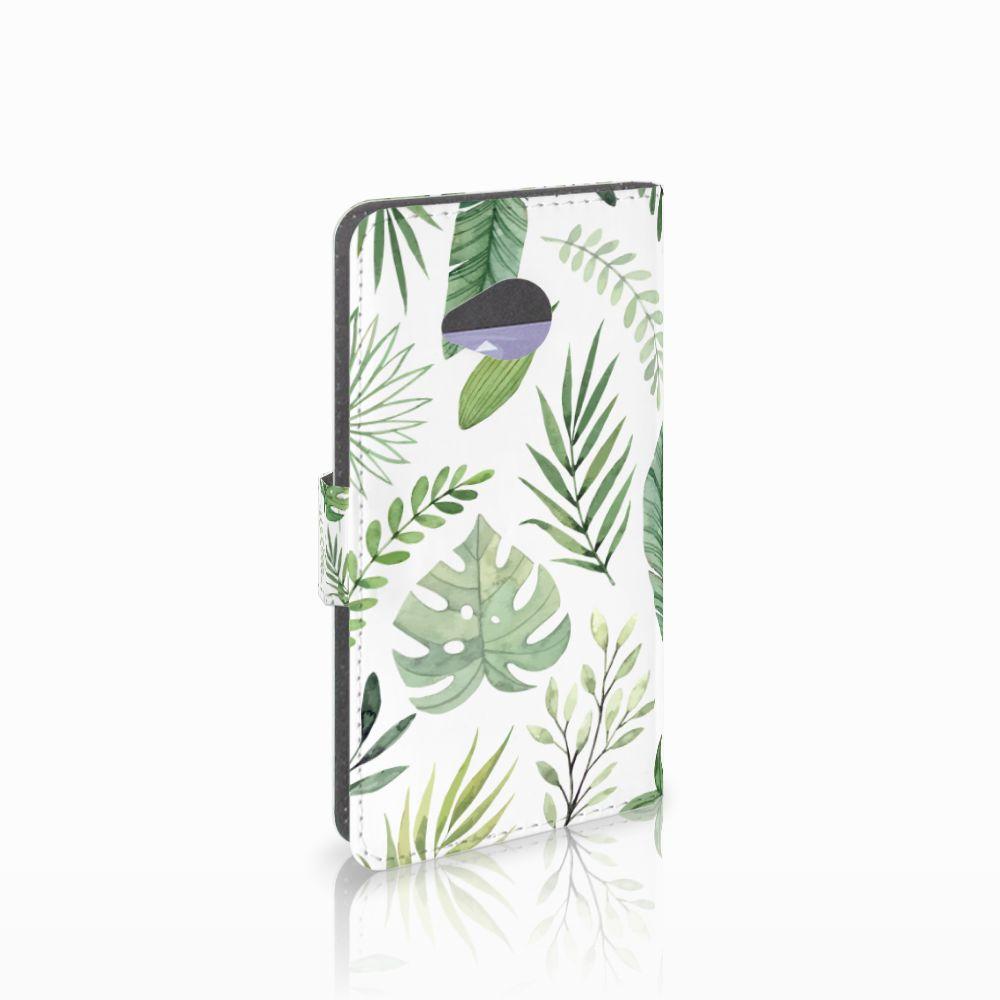 HTC U11 Life Hoesje Leaves