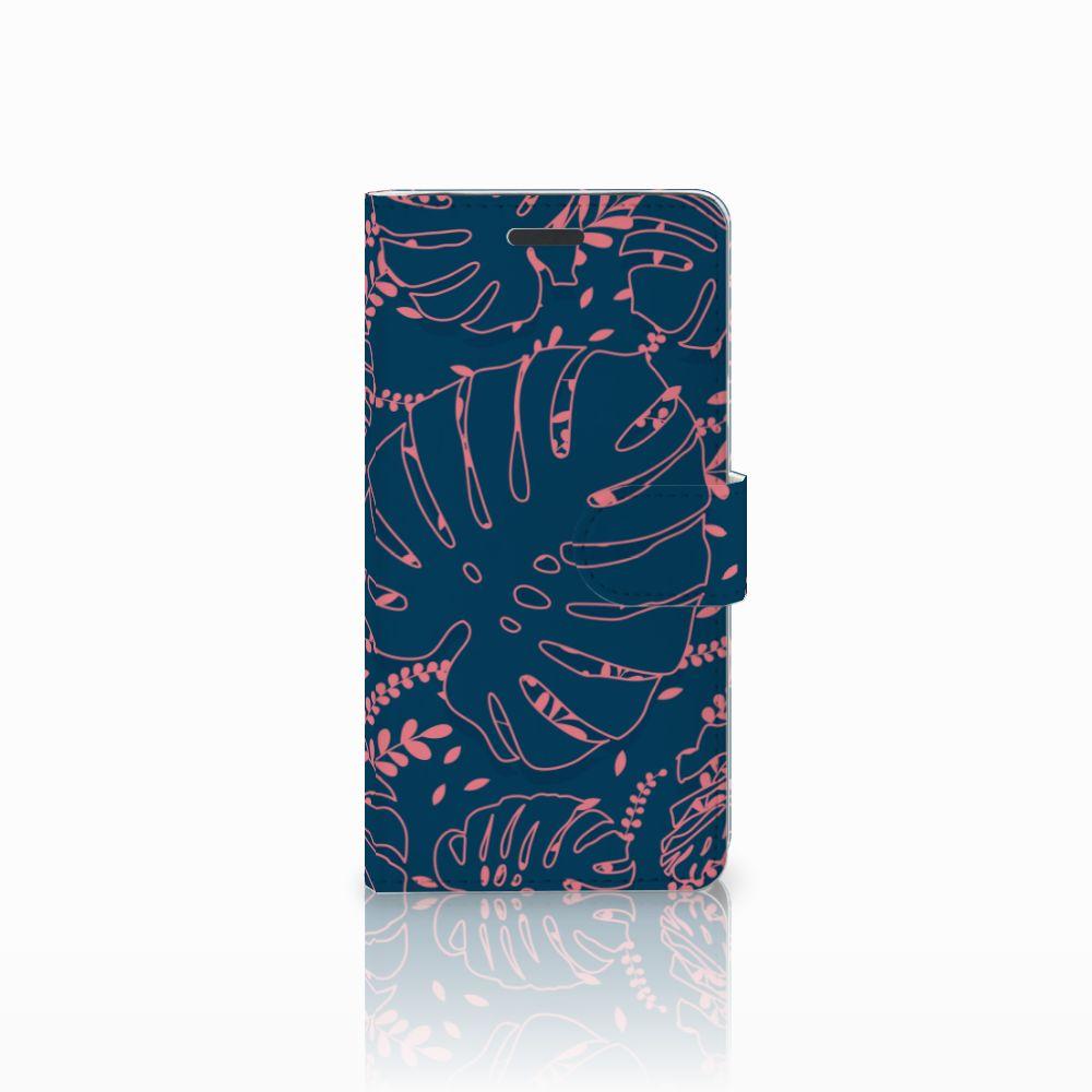 Samsung Galaxy Note 5 Boekhoesje Design Palm Leaves