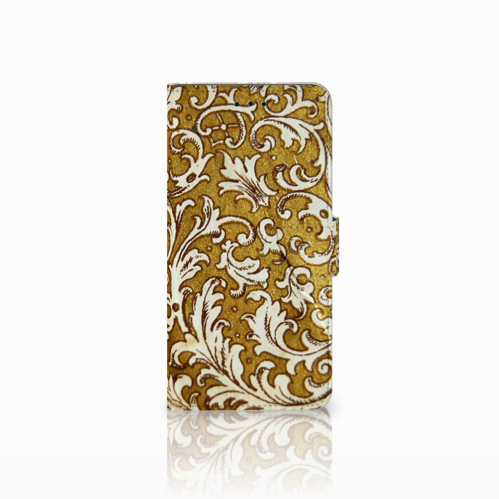 Wallet Case Motorola Moto E5 Barok Goud