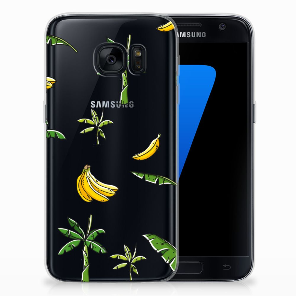 Samsung Galaxy S7 TPU Case Banana Tree