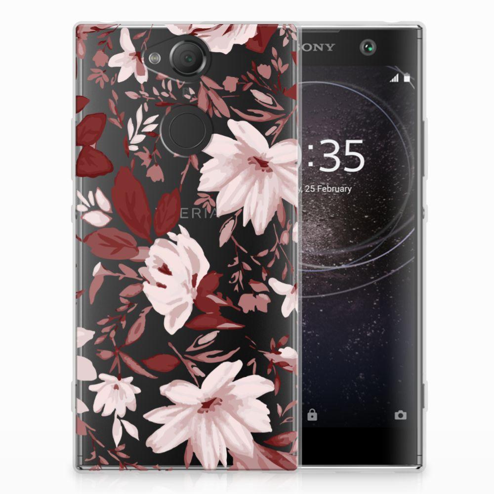 Hoesje maken Sony Xperia XA2 Watercolor Flowers