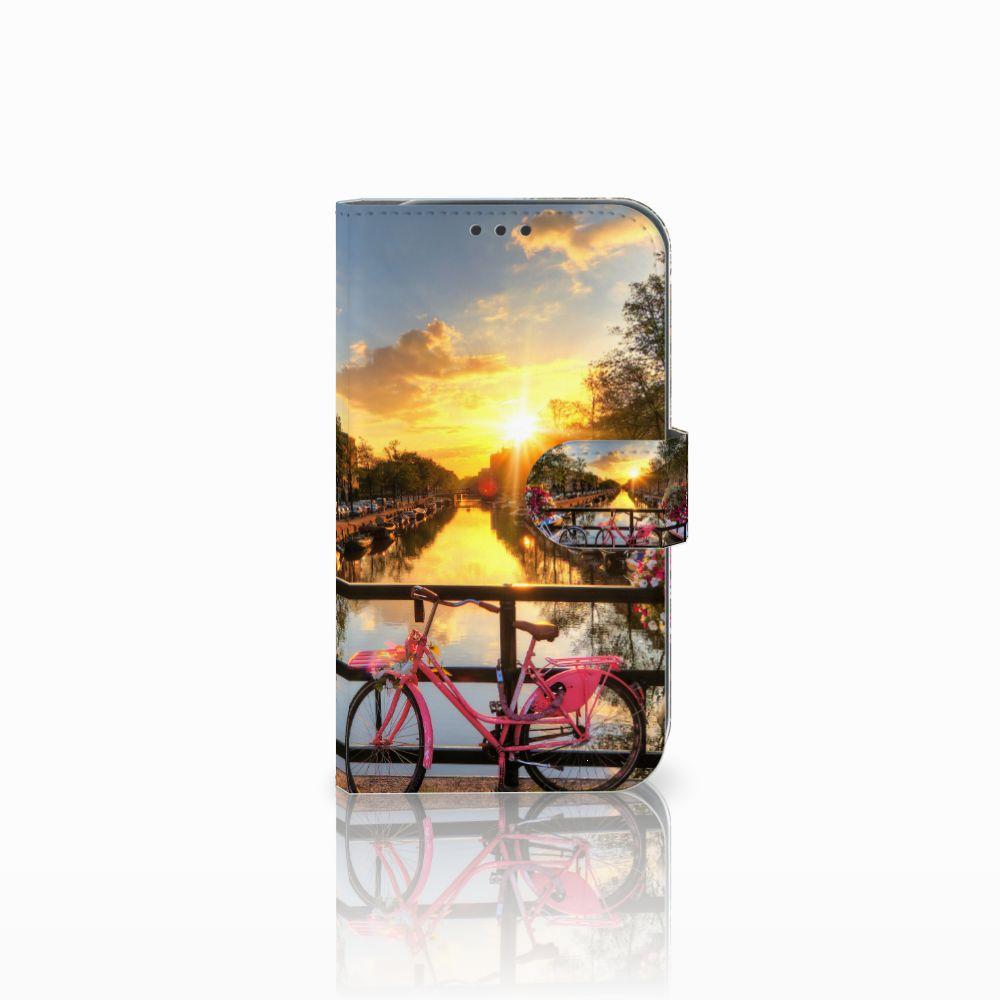Samsung Galaxy Xcover 4 Uniek Boekhoesje Amsterdamse Grachten