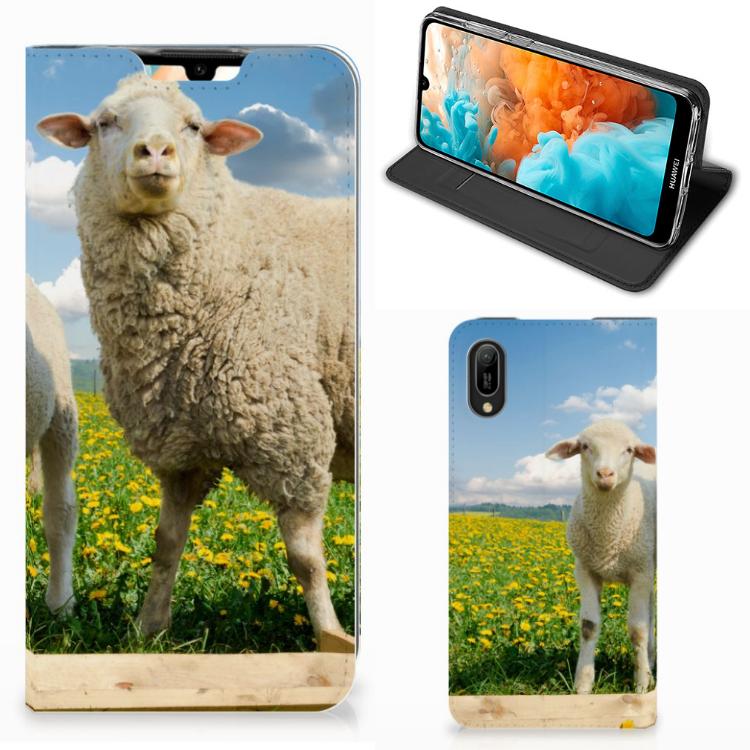 Huawei Y6 2019 Hoesje maken Schaap en Lammetje