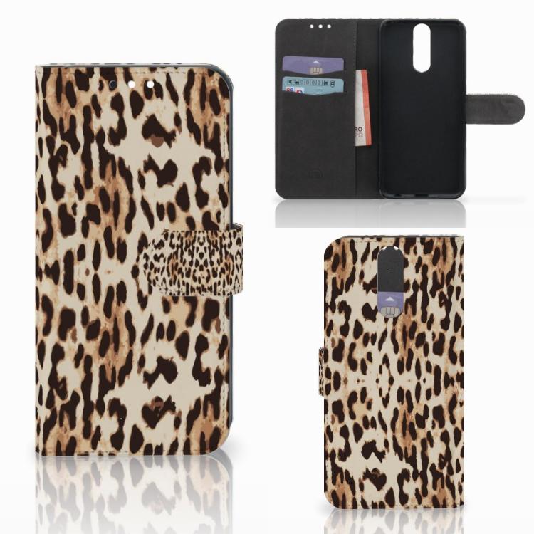 Huawei Mate 10 Lite Telefoonhoesje met Pasjes Leopard
