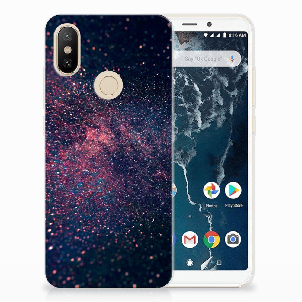 Xiaomi Mi A2 TPU Hoesje Stars