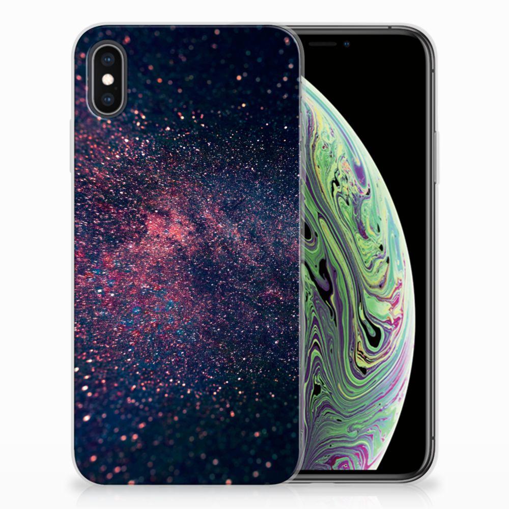 Apple iPhone Xs Max TPU Hoesje Stars