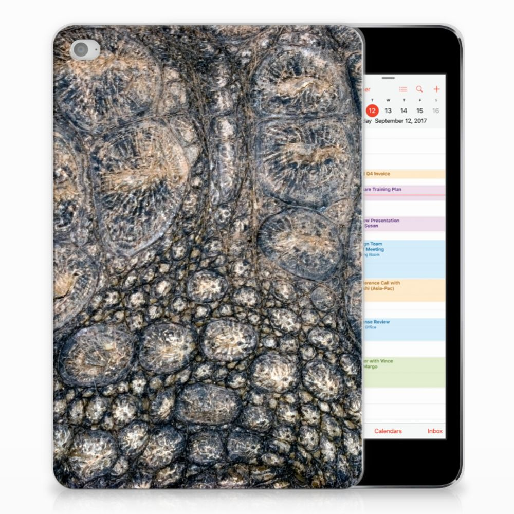 Apple iPad Mini 4 | Mini 5 (2019) Back Case Krokodillenprint