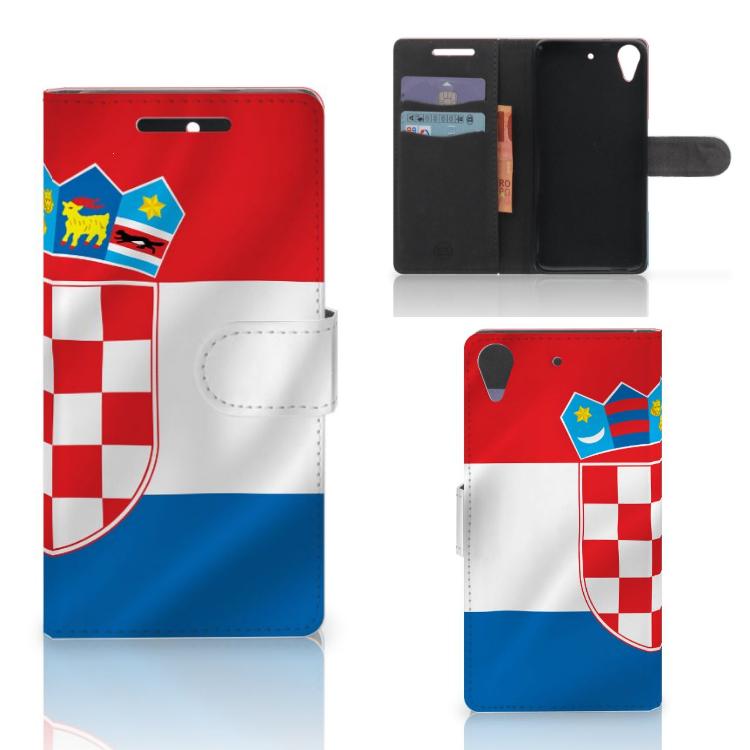 HTC Desire 628 Bookstyle Case Kroatië