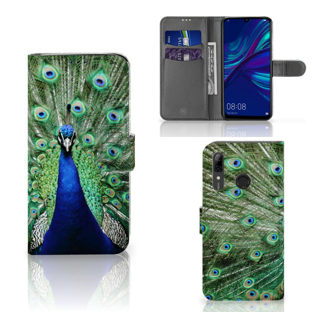 Huawei P Smart Plus (2019) Telefoonhoesje met Pasjes Pauw