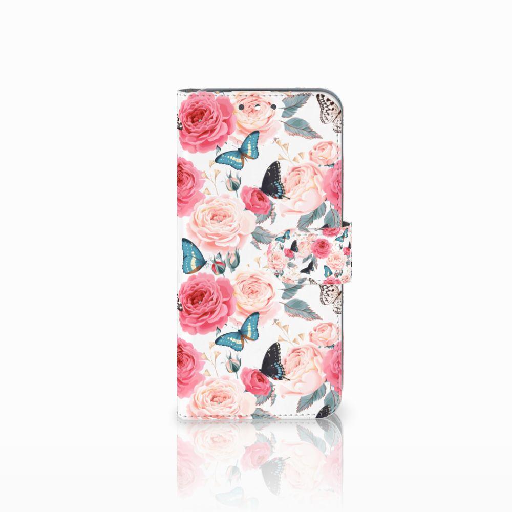 Wiko Wim Uniek Boekhoesje Butterfly Roses