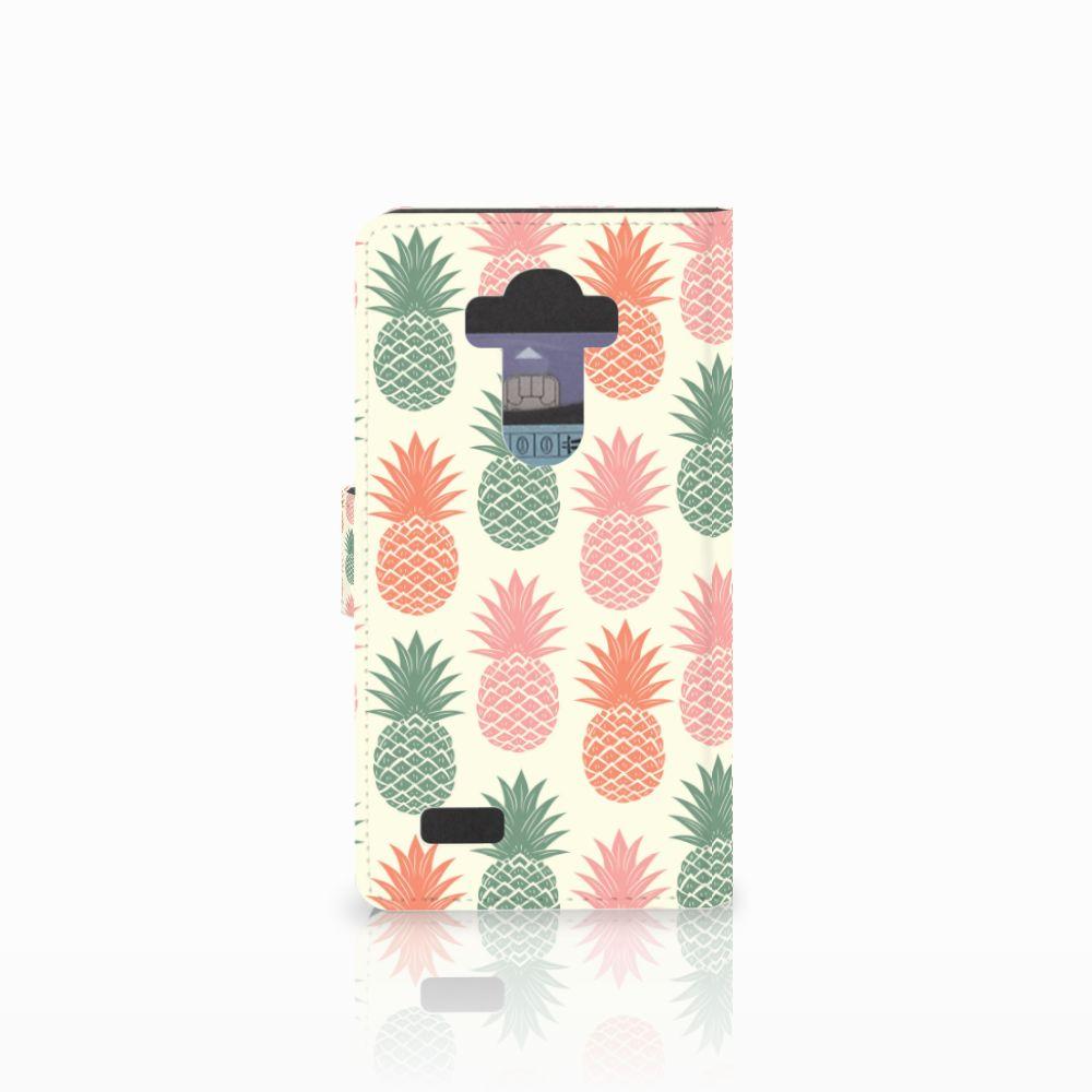 LG G4 Book Cover Ananas