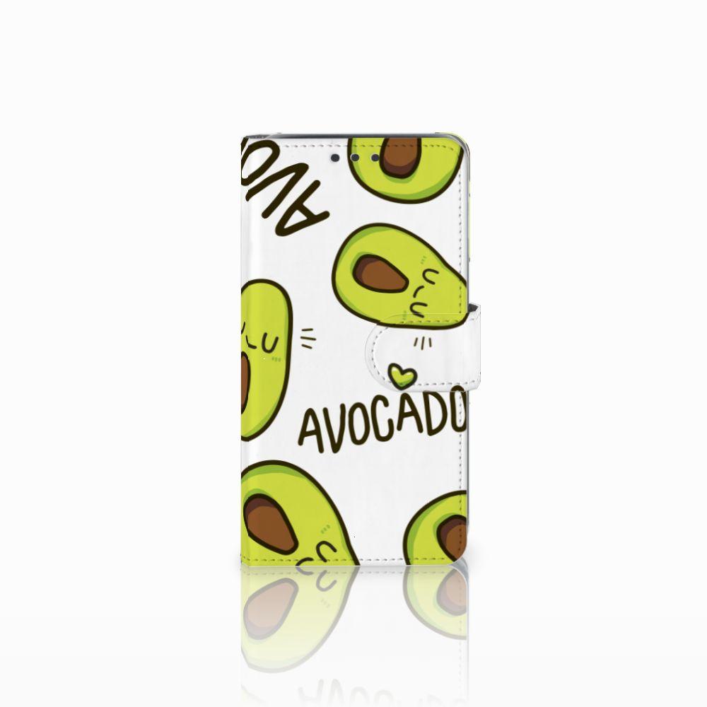 Samsung Galaxy J5 (2015) Uniek Boekhoesje Avocado Singing