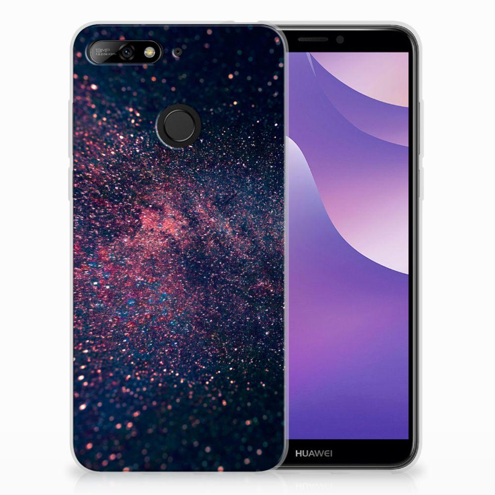 Huawei Y6 (2018) TPU Hoesje Stars