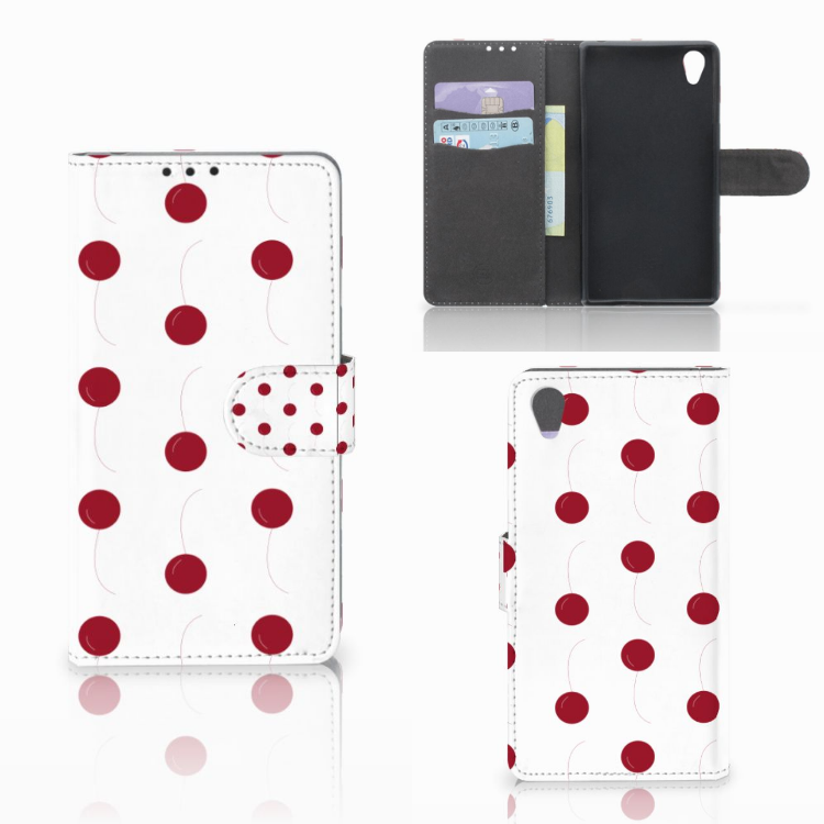 Sony Xperia Z1 Book Cover Cherries