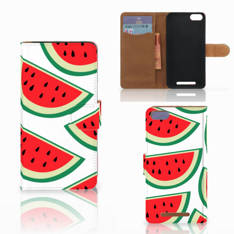 Wiko Lenny 3 Book Cover Watermelons