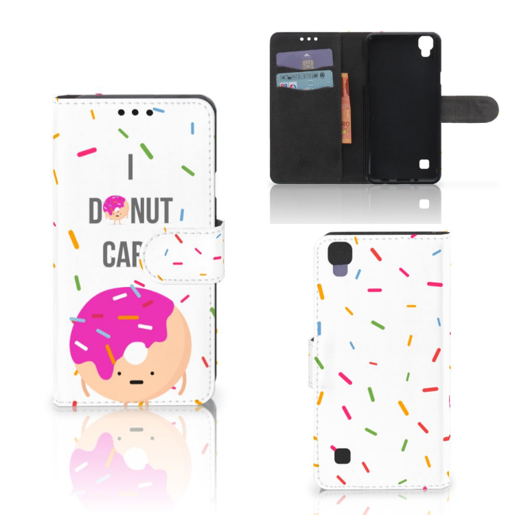 LG X Style Book Cover Donut Roze