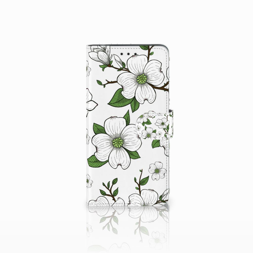 Samsung Galaxy J6 Plus (2018) Boekhoesje Design Dogwood Flowers