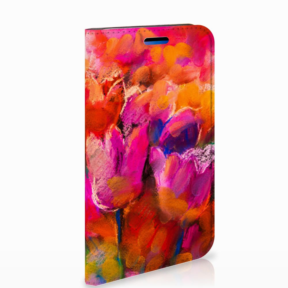 Apple iPhone X | Xs Standcase Hoesje Design Tulips