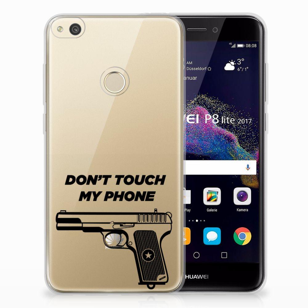 Huawei P8 Lite 2017 Uniek TPU Hoesje Pistol DTMP