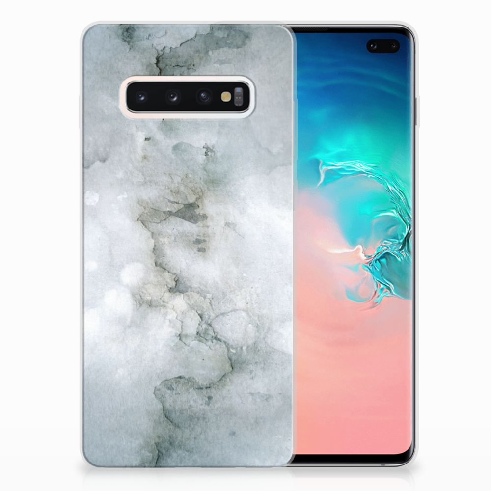Hoesje maken Samsung Galaxy S10 Plus Painting Grey