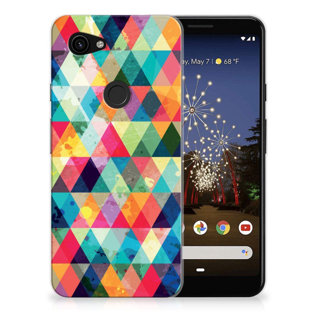 Google Pixel 3A TPU bumper Geruit