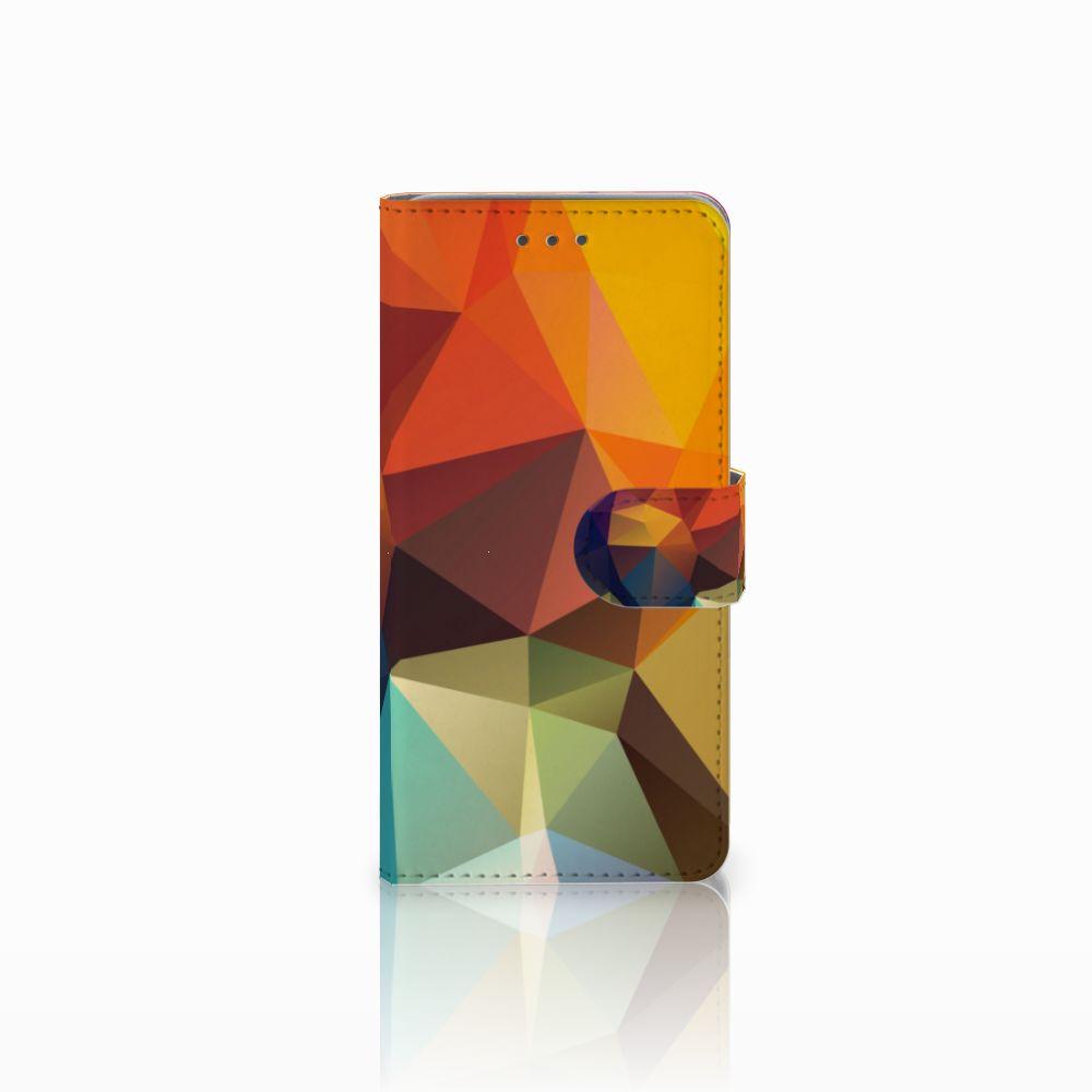 Wiko Lenny 2 Boekhoesje Design Polygon Color