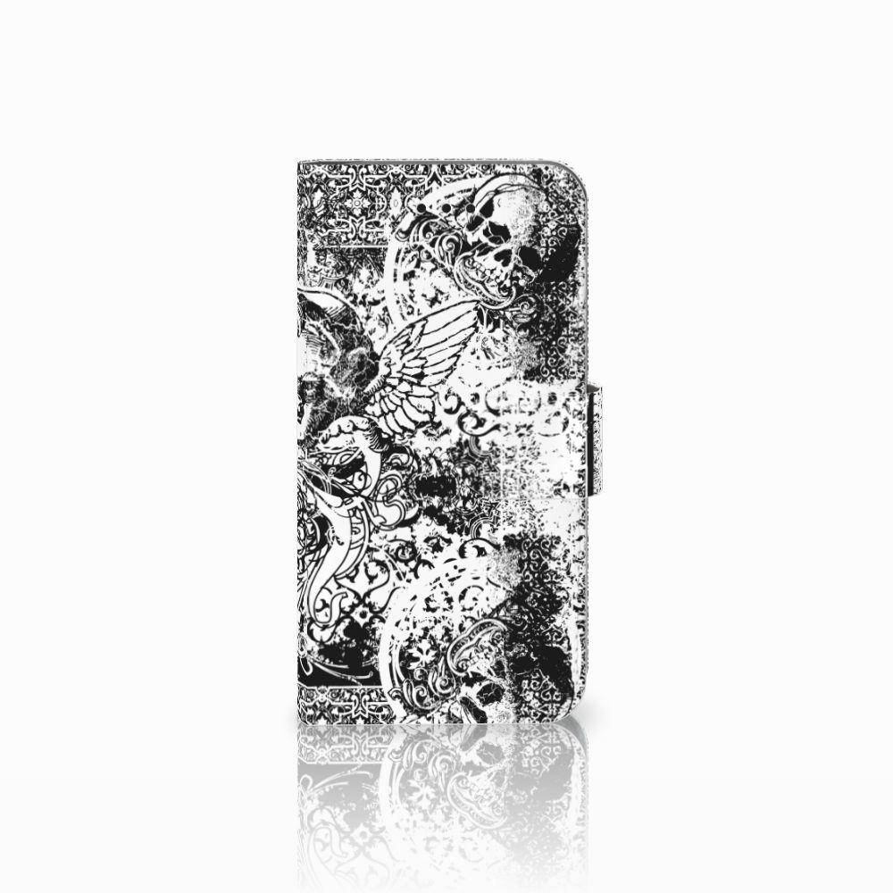 Apple iPhone X | Xs Boekhoesje Design Skulls Angel