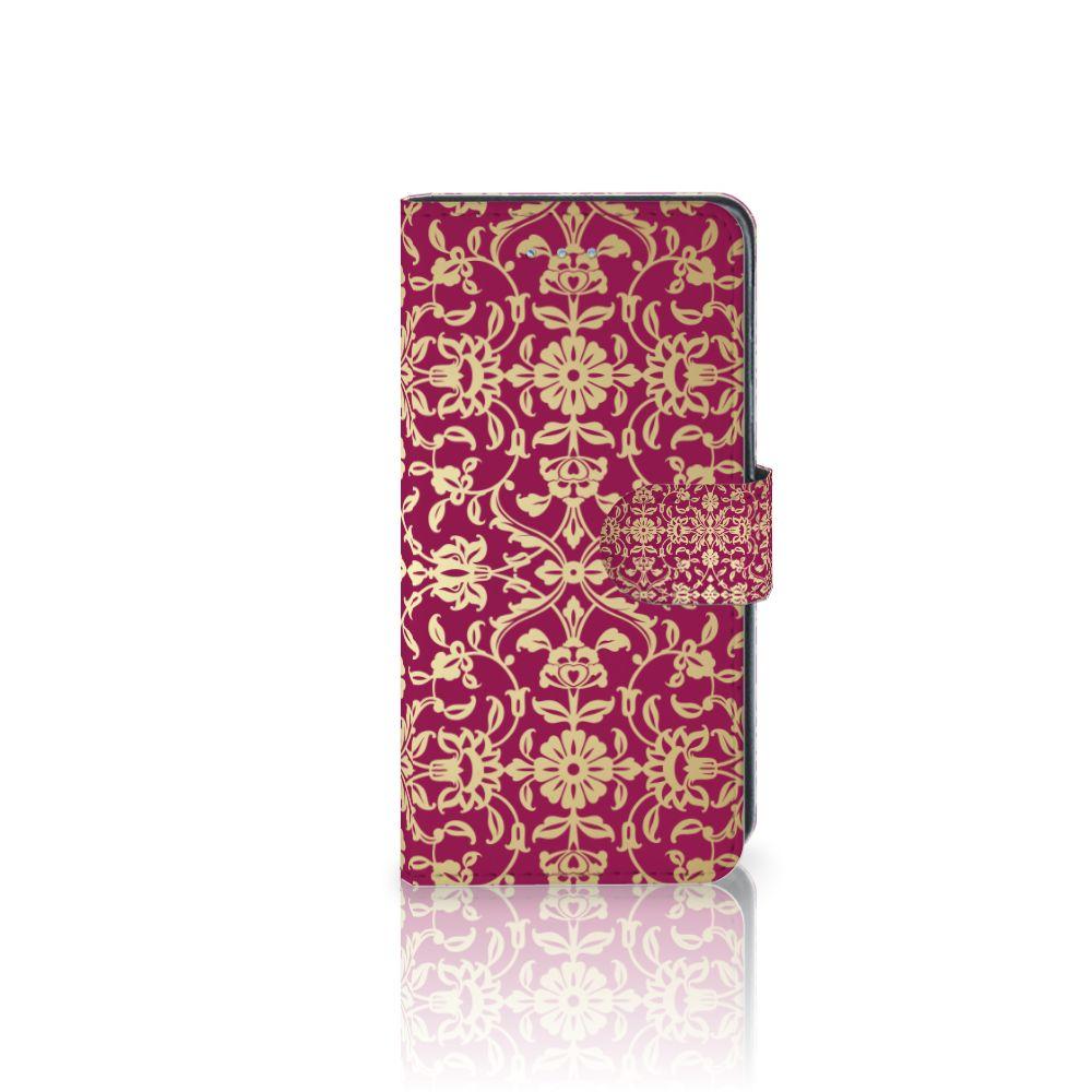Samsung Galaxy J3 2016 Boekhoesje Design Barok Pink
