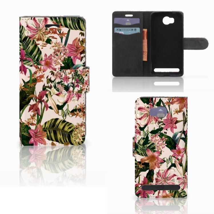 Huawei Y3 2 | Y3 II Hoesje Flowers