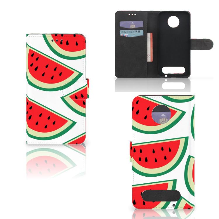 Motorola Moto Z2 Force Book Cover Watermelons