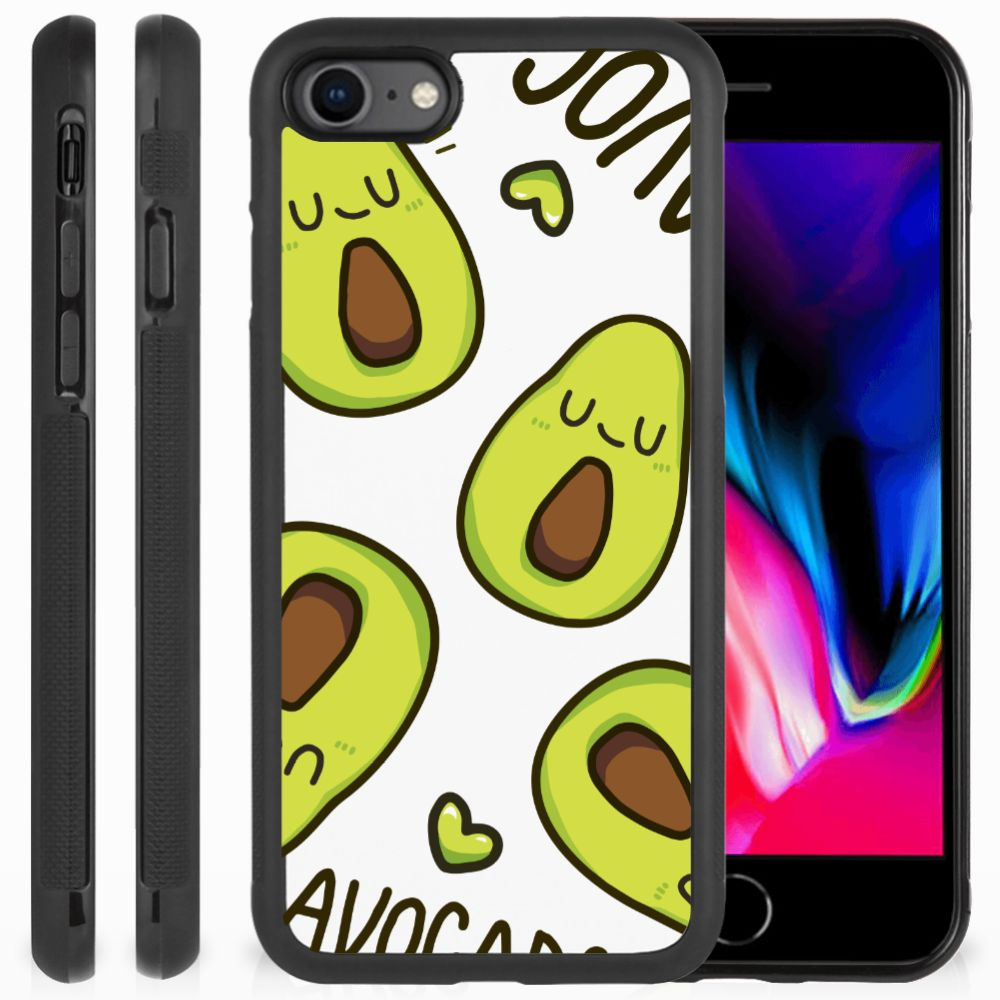 Apple iPhone 7 | 8 Bumper Hoesje Avocado Singing