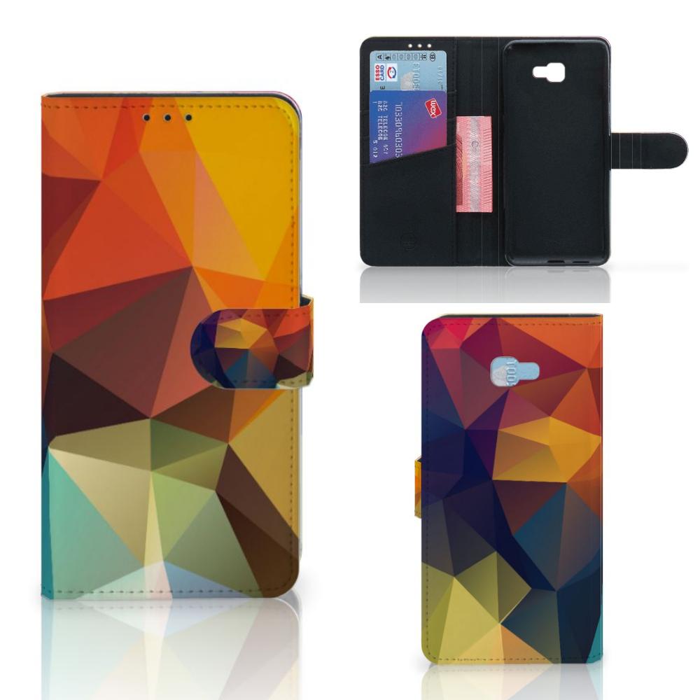 Samsung Galaxy J4 Plus (2018) Bookcase Polygon Color
