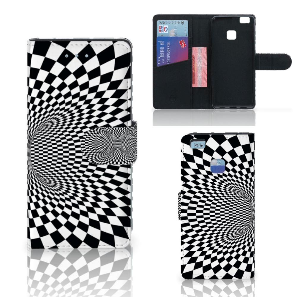 Huawei P9 Lite Bookcase Illusie